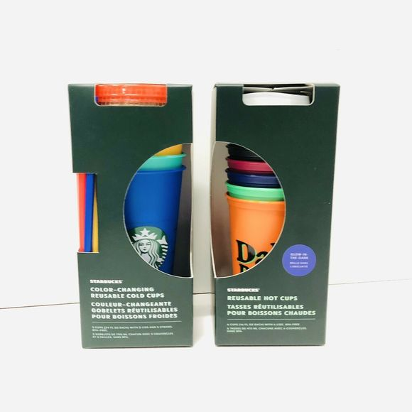 Starbucks 2020 Summer Rainbow Color Changing Venti Cold Cup Tumbler 24oz 1 Count